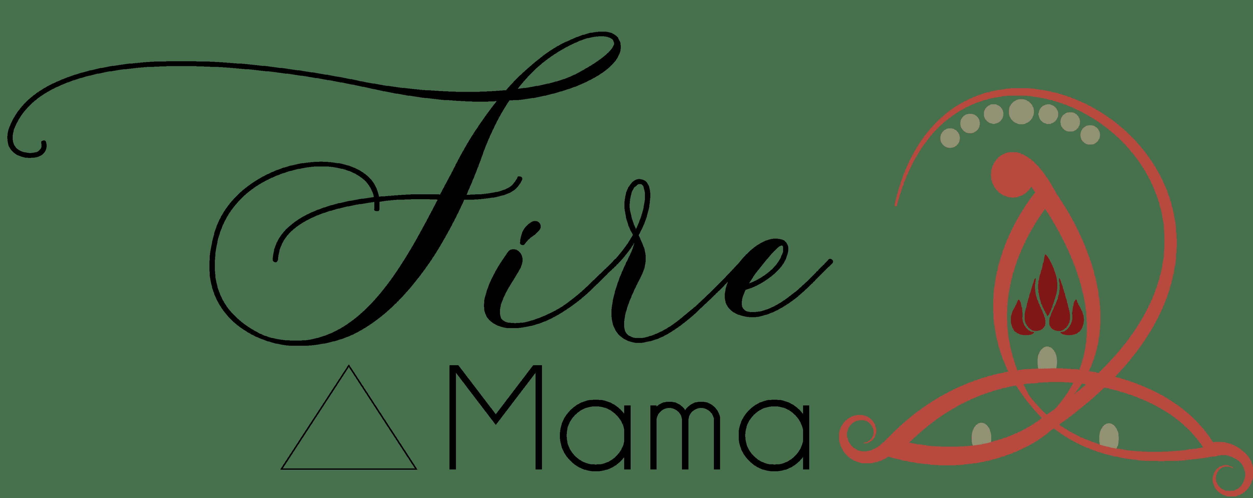 Fire logo en tekst